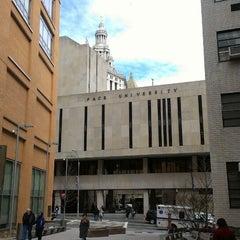 Photo taken at Pace University by Matthew S. on 3/3/2013