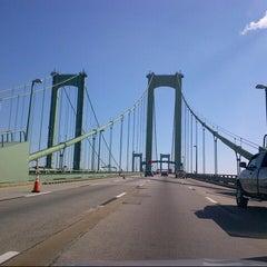 Photo taken at Delaware Memorial Bridge by Matthew S. on 10/21/2012