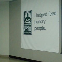Photo taken at Greater Chicago Food Depository by Catrina T. on 9/21/2015