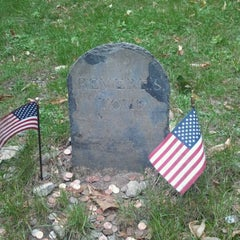 Photo taken at Granary Burying Ground by Joel C. on 9/18/2012