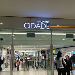Photo taken at Shopping Cidade by DaniLo F. on 5/17/2013