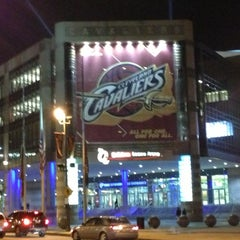 Photo taken at Quicken Loans Arena by ❄Pavan S. on 12/14/2012
