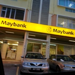 Photo taken at Maybank Section 5 by Ziela B. on 1/17/2013