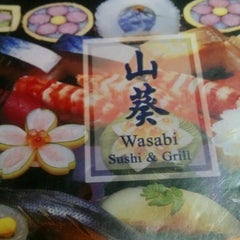 Photo taken at Wasabi Sushi and Grill by Samantha B. on 2/15/2013