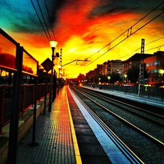 Photo taken at RENFE El Masnou by msubirats on 10/18/2012