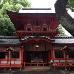 Photo taken at 春日神社 by William K. on 10/15/2013