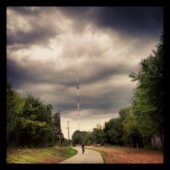 Photo taken at Atlanta BeltLine Corridor over Ponce de Leon by Joshua F. on 9/15/2012