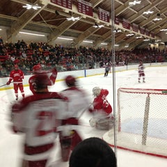 Photo taken at Bright Hockey Center by Moni on 2/17/2013