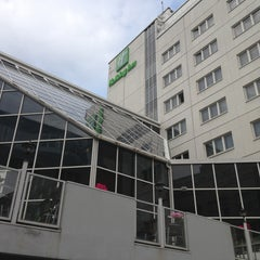 Photo taken at Holiday Inn Tampere - Central Station by Allan M. on 8/4/2013