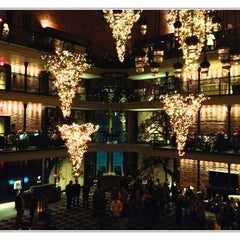 Photo taken at The Liberty Hotel by Tony G. on 1/6/2013