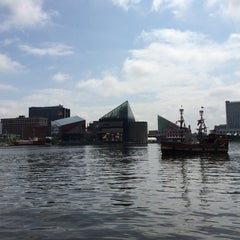 Photo taken at Historic Ships in Baltimore by Raúl G. on 6/13/2014