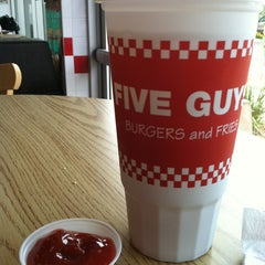 Photo taken at Five Guys by Jason G. on 7/5/2013