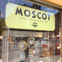 Photo taken at Moscot by Nazo S. on 5/13/2013
