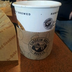 Photo taken at Einstein Bros Bagels by Jose G. on 7/21/2013