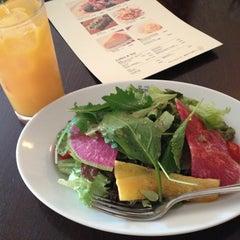 Photo taken at Cafe La Bohéme 白金 by ayano Y. on 5/23/2015