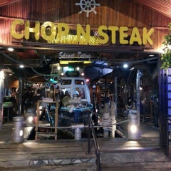 "Photo taken at The Ship ""Chop n' Steak"" by Kay M. on 10/24/2012"