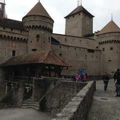 Photo taken at Château de Chillon by Clément M. on 4/7/2013