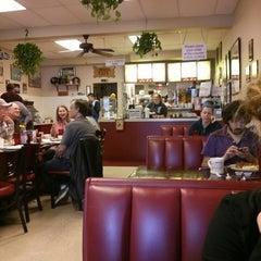 Photo taken at John's Cafe by Mark B. on 1/18/2014