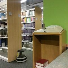 Photo taken at Brandel Library - North Park University by Lizelle M. on 2/28/2013