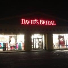 Photo taken at David's Bridal by Joe M. on 2/19/2013