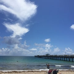 Photo taken at Lauderdale-By-The-Sea by Warren A. on 6/18/2015