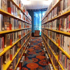 Photo taken at Stephens Library by Nan B. on 8/16/2013