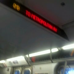 Photo taken at MTA Bus - Q38/Q54/Q67 - Metropolitan Av & Metro Av Station by Richie B. on 10/15/2012