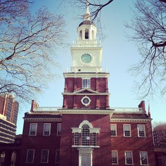 Photo taken at Independence Hall by Michael K. on 4/3/2013
