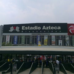 Photo taken at Estadio Azteca by ERCOCA on 5/11/2013