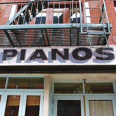 Photo taken at Pianos by Faye S. on 11/16/2012