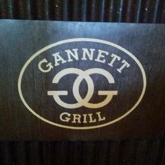 Photo taken at Gannett Grill by Danny S. on 5/31/2013