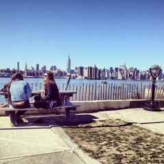 Photo taken at Williamsburg Waterfront by Eric on 4/7/2013
