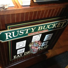 Photo taken at Rusty Bucket by Brian on 10/9/2012