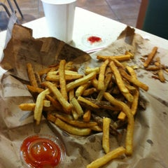Photo taken at Five Guys by Michael on 1/24/2013