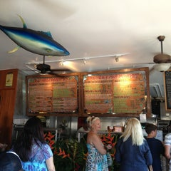 Photo taken at Paia Fish Market Restaurant by Shay R. on 7/1/2013