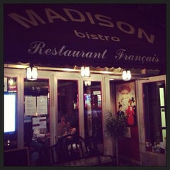 Photo taken at Madison Bistro by Toru H. on 7/18/2013