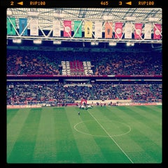Photo taken at Amsterdam ArenA by patrick (doebrigade) R. on 10/7/2012