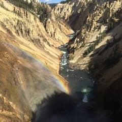 Photo taken at Yellowstone National Park - East Entrance by Оля on 9/23/2015