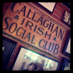 Photo taken at Callaghan's Irish Social Club by Wes F. on 10/12/2012