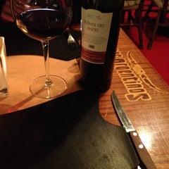Photo taken at Restaurant Los Argentinos by Senem G. on 1/23/2015