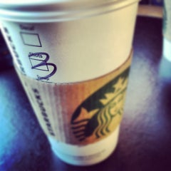 Photo taken at Starbucks by Molly M. on 9/23/2012