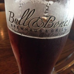 Photo taken at Bull & Bones Brewhaus & Grill by Chris on 8/1/2013