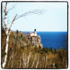 Photo taken at Split Rock Lighthouse by David O. on 5/26/2013