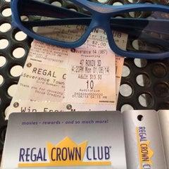 Photo taken at Regal Cinemas Severance Town Center 14 by Ratar on 1/6/2014