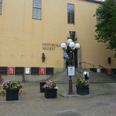 Photo taken at Historiska Museet by Tobias P. on 8/8/2013