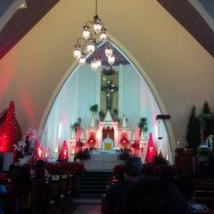 Photo taken at Gereja Katolik Katedral Santa Perawan Maria Dari Gunung Karmel by AGUSTINUS R. on 12/28/2014