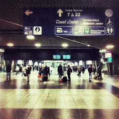 Photo taken at Gare de Bruxelles-Midi / Station Brussel-Zuid by Jason A. on 11/11/2012