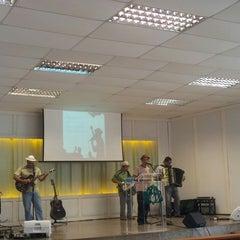 Photo taken at Igreja Presbiteriana da Alvorada by Carlos Henrique R. on 11/10/2013