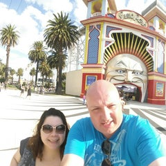 Photo taken at St Kilda by Steven C. on 12/28/2014