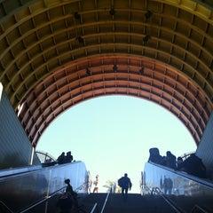 Photo taken at North Hollywood MTA Metro Red Line Bike Lockers by Erik S. on 8/18/2013